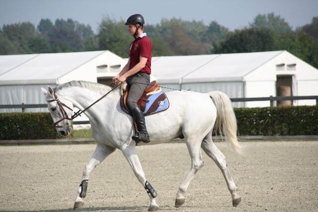 Como montar a caballo