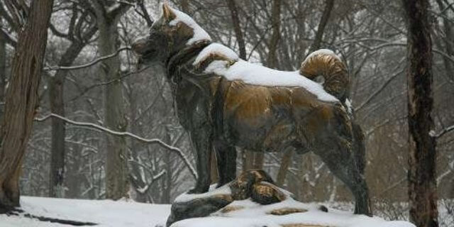 Uno de los heroes caninos más destacados: Balto.