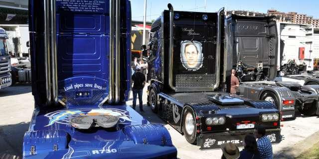 El parque español de camiones pesados continúa envejeciendo.