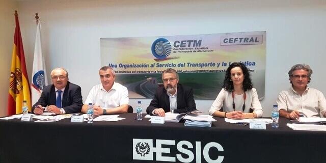 Presentación del Máster de Dirección de Empresas de Transporte y Logística organizado por CETM y ESIC