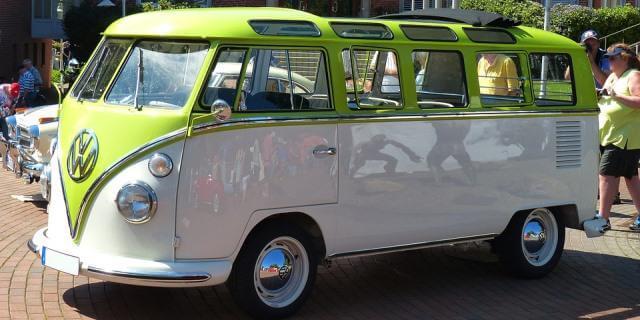 La Volkswagen T1 se convirtió en un símbolo hippie.