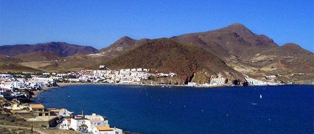 Playa de San José, integrada dentro del Parque Natural de Cabo de Gata.