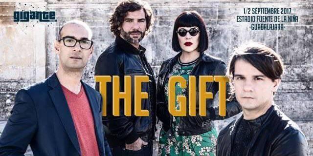 Actuación de la banda The Gift en Guadalajara.
