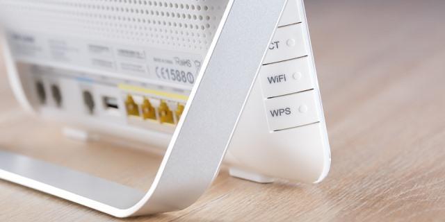 Router WiFi WLAN.