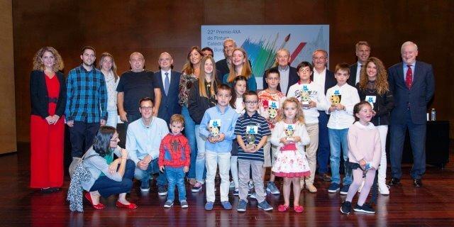 AXA ENTREGA PREMIOS CONCURSO PINTURA CATEDRAL DE BURGOS 2017