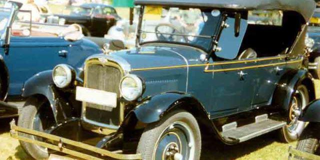 Chevrolet Capitol de 1927.