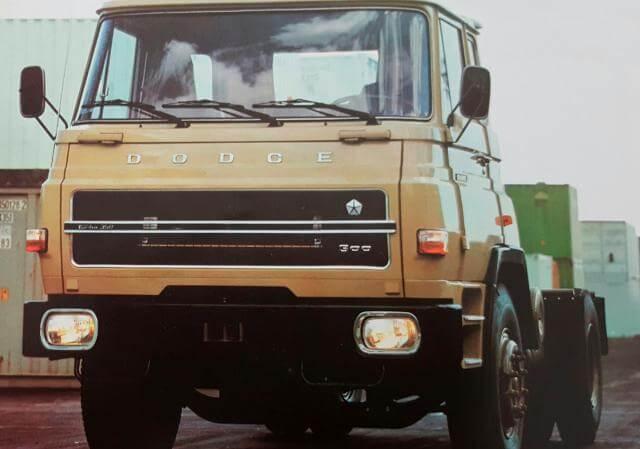 Uno de los modelos del Dodge Barreiros.