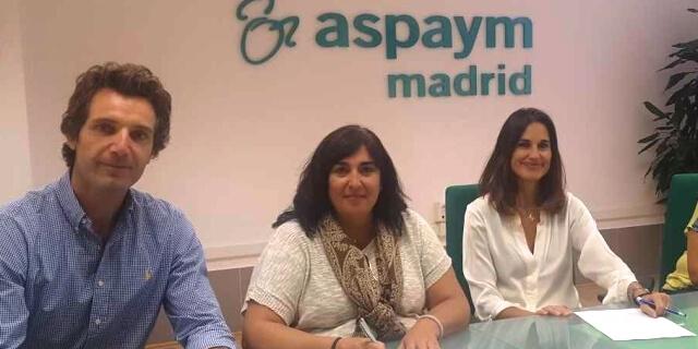 Mayte Gallego de ASPAYM Madrid con Liberty Responde