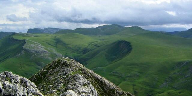 Sierra de Aralar en Navarra.