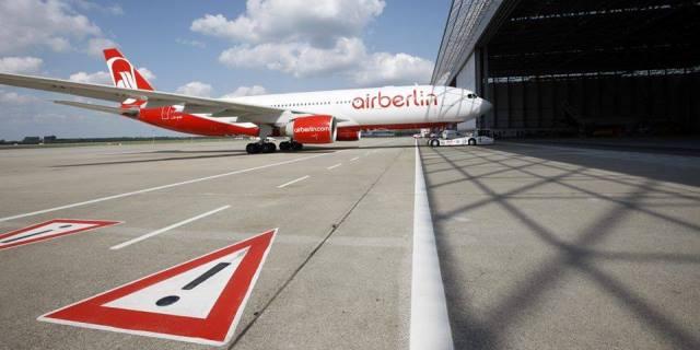 Avion de la compañía AirBerlin.
