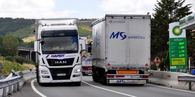 Los camiones serán desviados en ese tramo de carretera