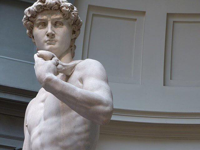 El David, una de las obras de arte más reconocidas