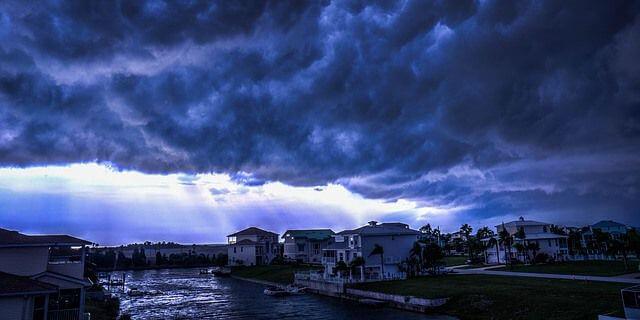 Huracán en Florida