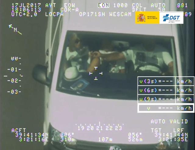 imagen DGT infracciones por no usar el cinturón de seguridad