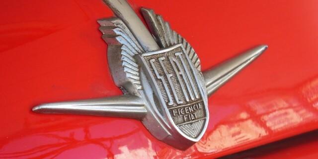 Logo del famoso SEAT 600.