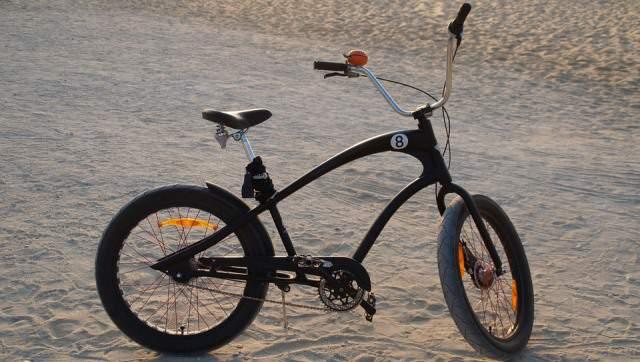 La bicicleta cruiser o playera es el antecedente de la bici de montaña.