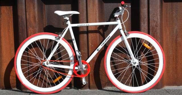 Bicicleta de pista.