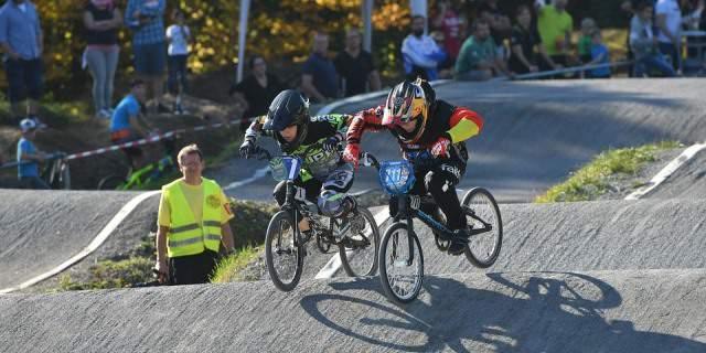 Competición de BMX.