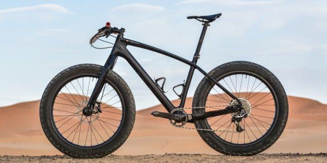 Las fat bikes son las bicicletas con las ruedas más anchas.