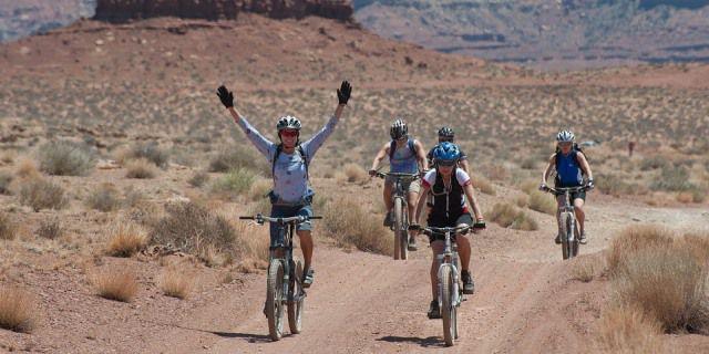 Montar en bicicleta reduce el estrés