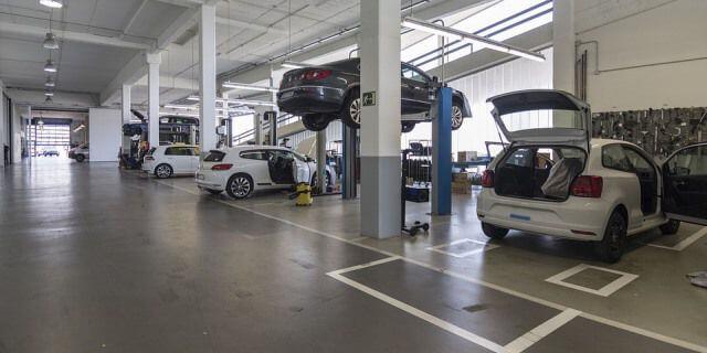 Concesionario Volkswagen de segunda mano.