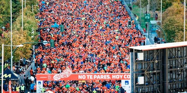 PONLE FRENO MADRID 2017 CON 20 MIL PERSONAS CORRIENDO POR LA CAPITAL