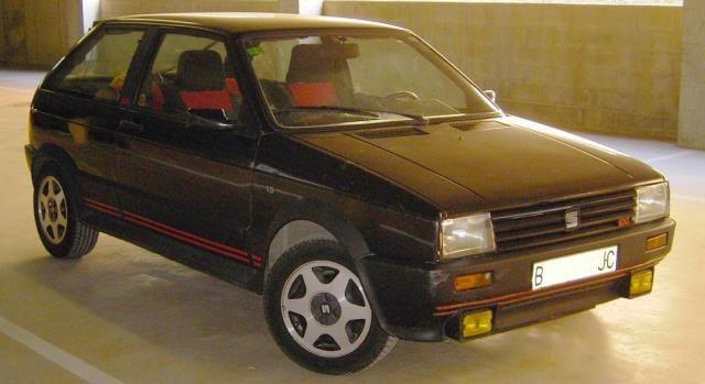 SEAT Ibiza SXI, la versión deportiva del primer modelo.