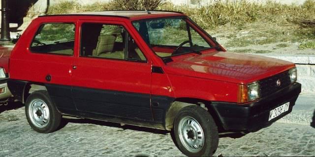 SEAT Panda 45 del año 1985.