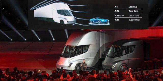 Presentación del Tesla Semi Truck de manos de Elon Musk, CEO y fundador de Tesla