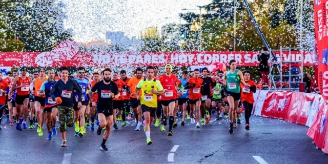 Deportistas corriendo en PONLE FRENO MADRID 2017
