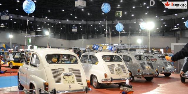 Coches clásicos SEAT en Retromóvil