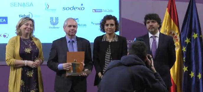 MAPFRE recibe premio Ministra por Igualdad Mujer en la empresa