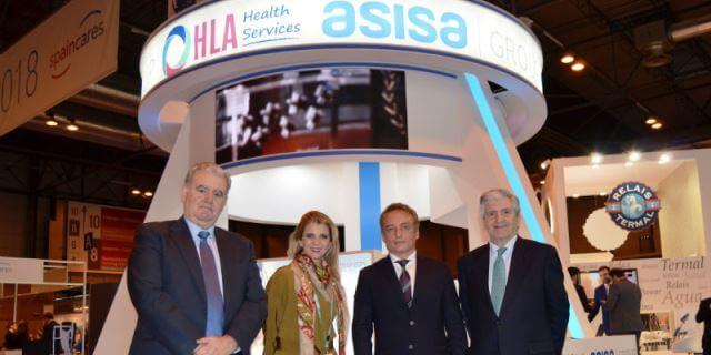 Representantes de ASISA en FITUR Salud 2018 portada