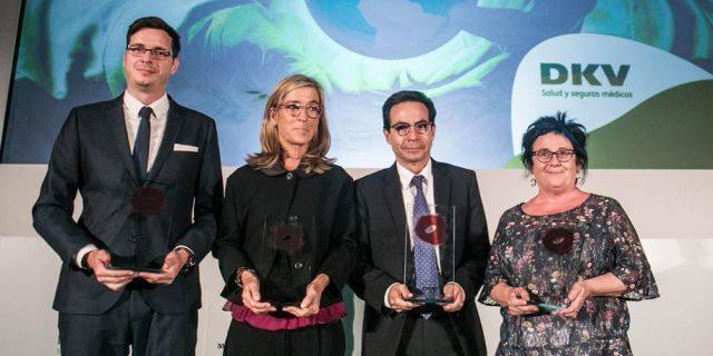 Imagen de los IV Premios Medicina y Solidaridad de DKV