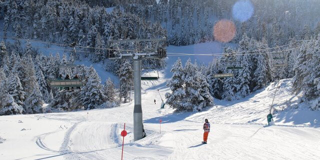 Las mejores estaciones de esquí.