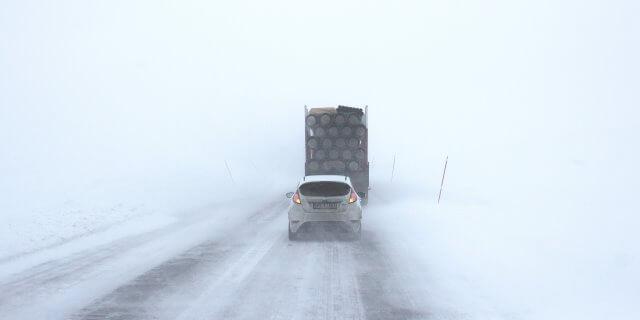 Conducir con nieve