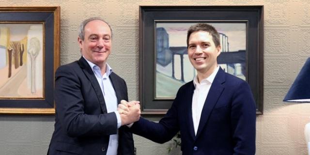 El CEO de Zurich en España, Vicente Cancio, y el de CoverWallet, Iñaki Berenguer, aliados para distribuir seguros para empresas