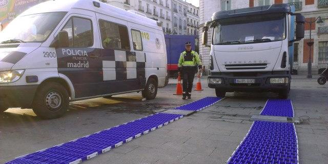 Madrid quiere que los camiones pesados trabajen de noche en la capital