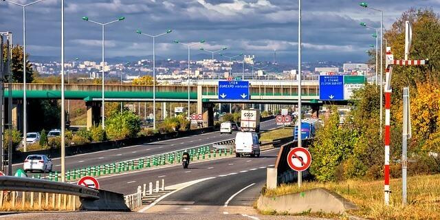carreteras de Francia por la que los camioneros desplazados pagaban tasa para trabajar