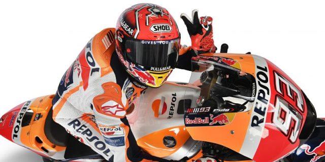 Marc Márquez renueva con el equipo Honda hasta 2020