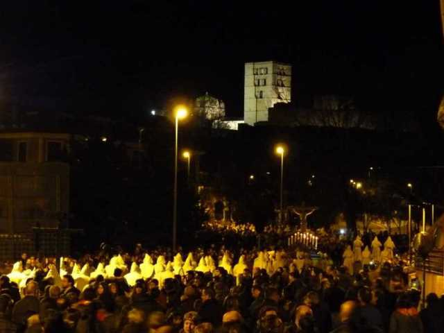 Procesión de Semana Santa en Zamora (Foto: Turismo de Zamora).