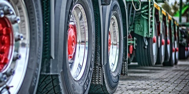 ruedas de camion afectado en su precio por el cartel de fabricantes de camiones