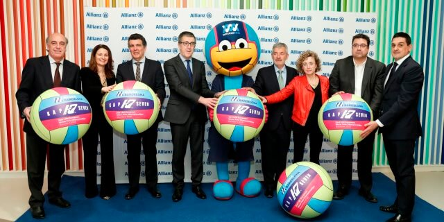 Allianz patrocina la wp 2018 bcn waterpolo campeonatos europeos