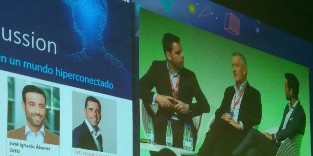 El CEO de DAS, Jordi Rivera, en el Insurance World Challenges