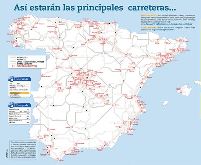 Mapa Semana Santa de Charo Laiz