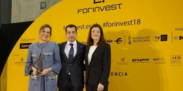 aprocose 2018 forinvest otorga premio a Divina Pastora 2