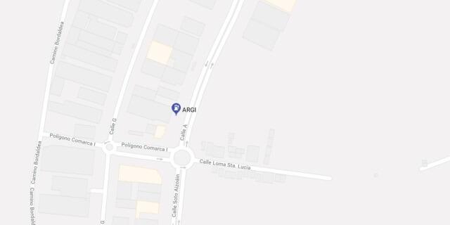 Localización de la gasolinera ARGI en Orcoyen.
