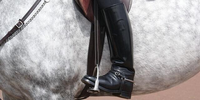 Equipación básica para montar a caballo.