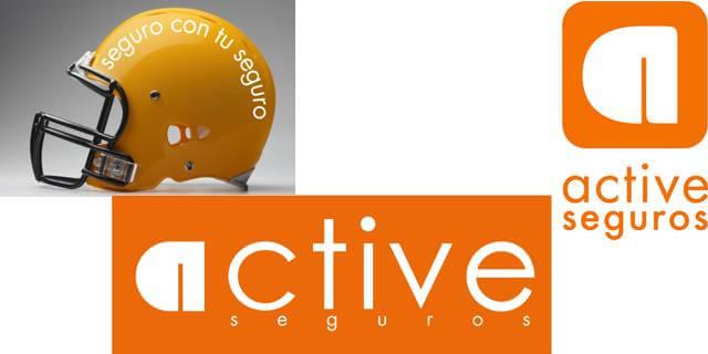Estos son los logos que mantenía hasta ahora Active Seguros