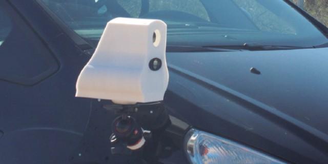 Los mini radares se pueden colocar en los vehículos.